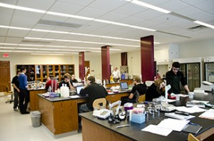 biochemistry teaching lab