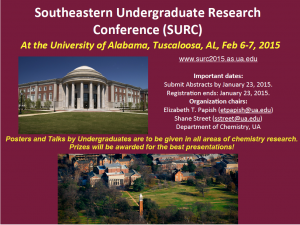 Southeastern Undergraduate Research Conference