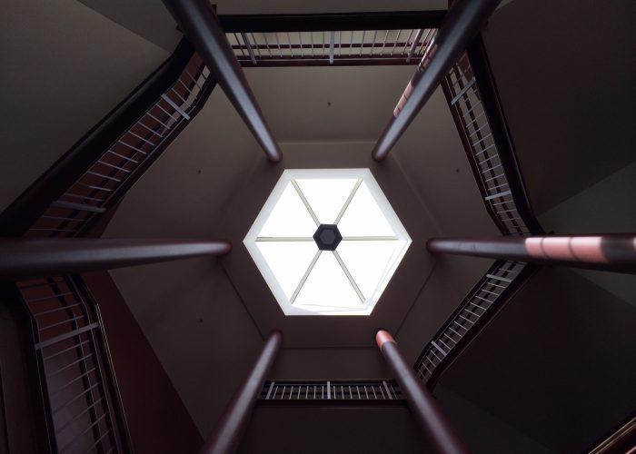 Hexagon shaped skylights