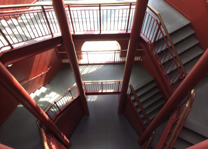 Shelby Hall staircases