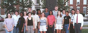 Participants in the 2000 summer program